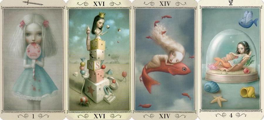 Attic Cartomancy - Beautiful Decks - Ceccoli Tarot