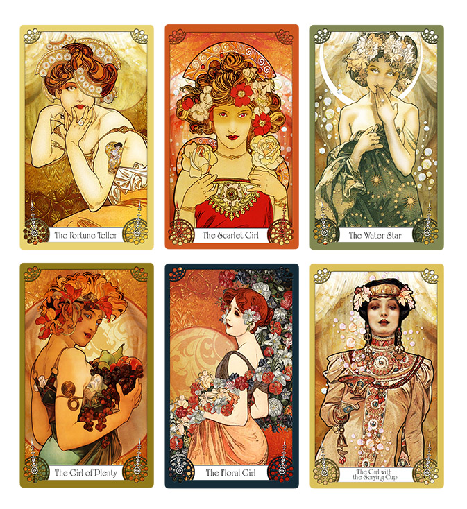 Oracles and Flutter Byes - The Orange Moon Oracle