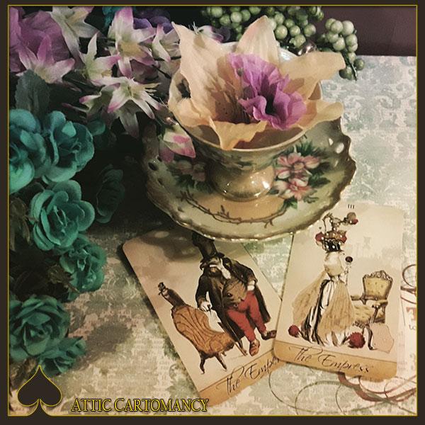 Attic Cartomancy - Tea and Tarot Tuesday