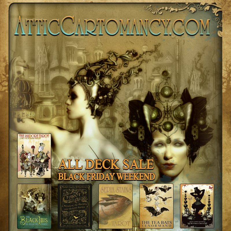 Attic Cartomancy All Deck Black Friday Weekend Sale