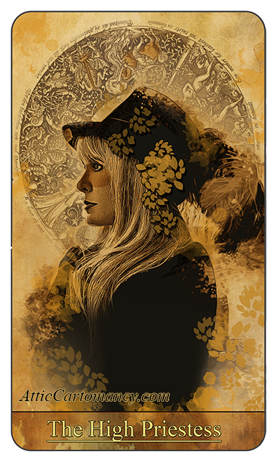 Attic Cartomancy - Fan Art - Fan Tarot - American Horror Story