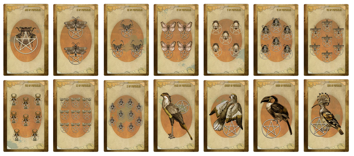 Attic Cartomancy - The Black Ibis Tarot