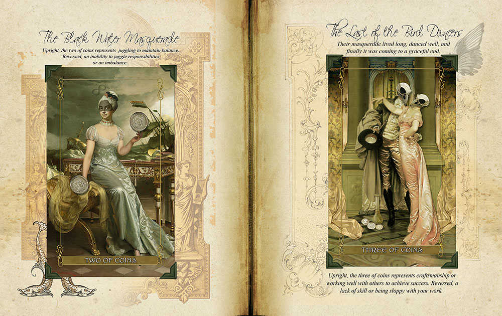 Madam Lydia Wilhelmina's Tarot of Monsters, the Macabre and Autumn Scenes -Grimoire
