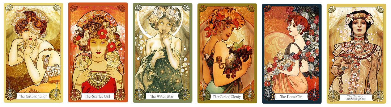 Attic Cartomancy - Oracles and Flutterbyes