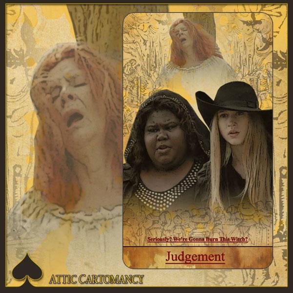 Attic Cartomancy - American Horror Story Fan Tarot by Bethalynne Bajema