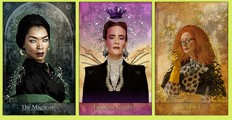 The Secret AHS Tarot by Bethalynnne Bajema