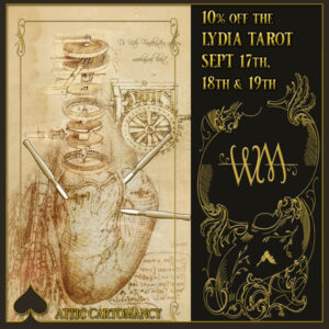 The Lydia Tarot Standard Edition 10 percent off for a limited time