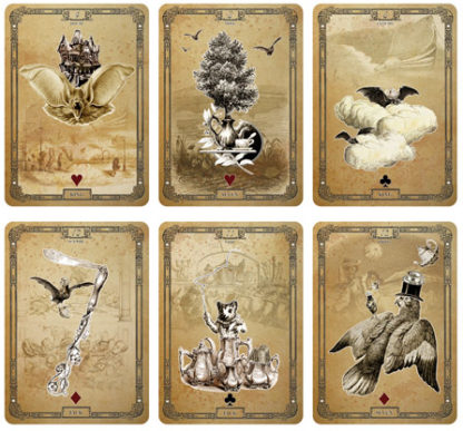 The Tea Bats Lenormand by Bethalynne Bajema - Second Edition