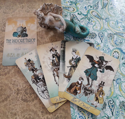 The Isidore Tarot by Bethalynne Bajema - Sea and Sand Spring Edition