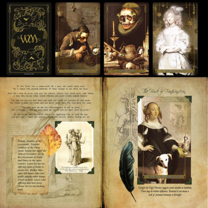 Madam Lydia Wilhelminas Tarot of Monsters the Macabre and Autumn Scenes Companion Grimoire