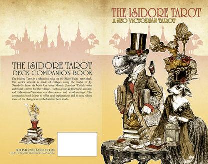 The Isidore Tarot Companion Book with Dapper Couple