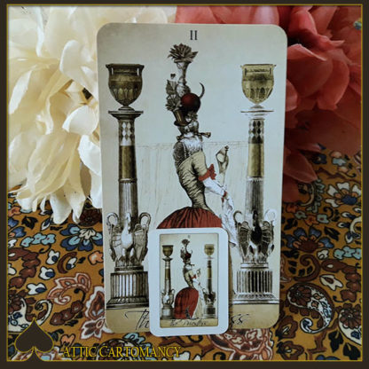 The Isidore Doll Size Tarot by Bethalynne Bajema
