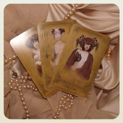 Attic Cartomancy - The Sepia Stains Tarot