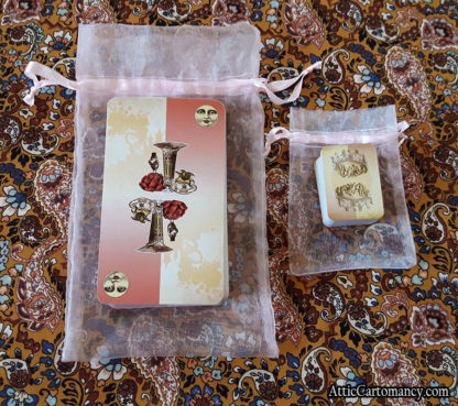 Attic Cartomancy - The Isidore Tarot Doll Size