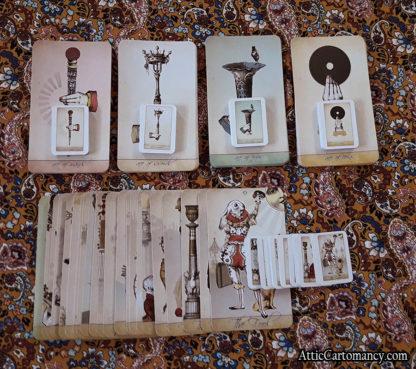 Attic Cartomancy - The Isidore Tarot Doll Size