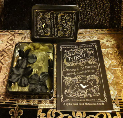 Madam Lydia Wilhelminas Tarot of Monsters the Macabre and Autumn Scenes