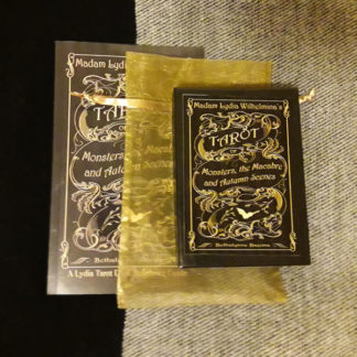 Madam Lydia Wilhelminas Tarot of Monsters, the Macabre, and Autumn Scenes - Deck with Book