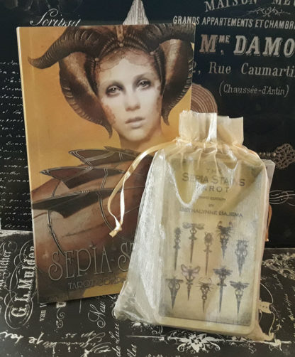 Attic Cartomancy - The Sepia Stains Tarot - Just Deck/Book