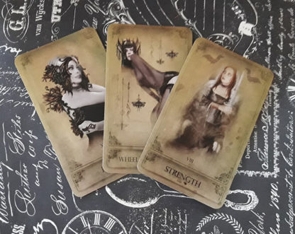 Attic Cartomancy - The Sepia Stains Tarot - Just Deck/Book