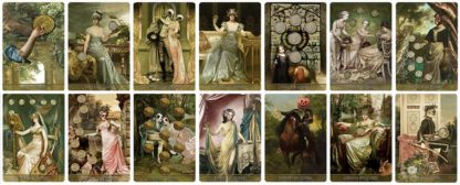 Madam Lydia Wilhelminas Tarot of Monsters, the Macabre, and Autumn Scenes - Bridge Size Deck
