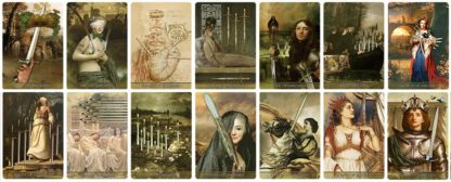 Madam Lydia Wilhelminas Tarot of Monsters, the Macabre, and Autumn Scenes