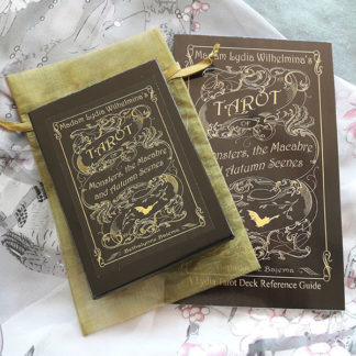 Madam Lydia Wilhelminas Tarot of Monsters, the Macabre and Autumn Scenes by Bethalynne Bajema