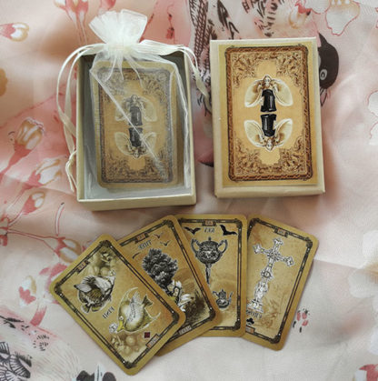 The Tea Bats Lenormand Mini Deck by Bethalynne Bajema