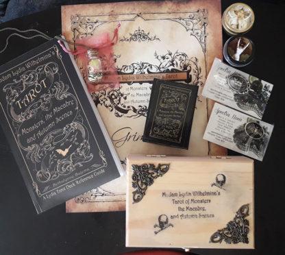 Madam Lydia Wilhelminas Tarot of Monsters, the Macabre, and Autumn Scenes