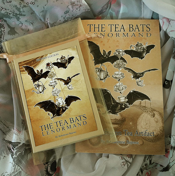 TheTea Bats Lenormand available through AtticCartomancy.com