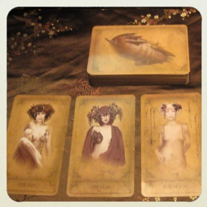 The Sepia Stains Tarot deck by Bethalynne Bajema