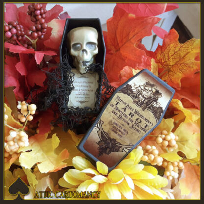 Madam Lydia Wilhelminas Tarot of Monsters, the Macabre and Autumn Scenes Doll Size Deck by Bethalynne Bajema